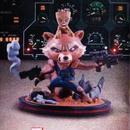 ガーディアンズ・オブ・ギャラクシー リミックス  ロケット・ラクーン&ベビー・グルート  フィギュア Quantum Mechanix  Qmx