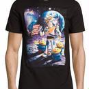 トイストーリー  バズライトイヤー on ムーン Buzz Lightyear on Moon Tシャツ【MENS】