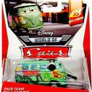 ディズニー・ピクサー カーズ  2014 マテル キャラクターカー フィルモア Race Team Fillmore with Headset