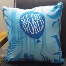 カールじいさんと空飛ぶ家  「See the World」クッション