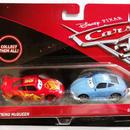 ディズニー・ピクサー カーズ  クロスロード マテル キャラクターカー 2パック CARS3 LIGHTNING McQUEEN & SALLY