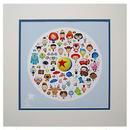 """ディズニー ピクサー  """"World of Pixar"""" Print Jerrod Maruyama"""