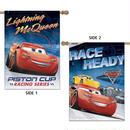 カーズ クロスロード     CARS3 x  NASCAR  ポリエステル製 全天候対応 大型リバーシブル バナー