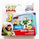 2010年 トイストーリー  バディパック シリーズ ウッディ/バズライトイヤー TOY STORY Mattel Budy Pack  Buzz Lightyear/Woody