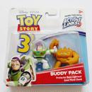 2010年 トイストーリー3  バディパック シリーズ バズライトイヤー/チャンク TOY STORY Mattel Budy Pack  Buzz Lightyear/Chunk