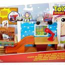 トイストーリー マテル社 アンディの部屋 プレイセット Andy's Room Mini Figure Playset