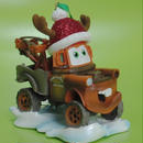 2012年 カーズ    レジン製  メーター ウィズ サンタハット  オーナメント Cars  Mater with Santa Hat Ornament