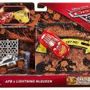 ディズニー・ピクサー カーズ  クロスロード マテル  CRAZY 8 CRASHERS ライトニング・マックイーン & APB  Lightning McQueen & APB