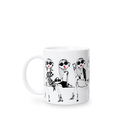 【Mug】Front Row(JR004-WT)