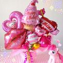 Pinkpinkpink...♥お誕生日♥女の子向けギフトバルーン♥送料無料