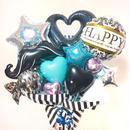BLACK × BLUE お祝いギフトバルーン★