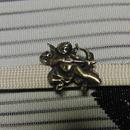 真鍮製 天使・エンジェル型帯留め 着物や浴衣の帯どめ飾りに
