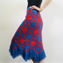 1970s Knitting Skirt
