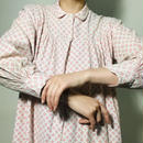 Vintage Shirt DressRed/White  (no.215)