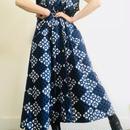 Maybe 1980s Indigo Long Vest/ Dress