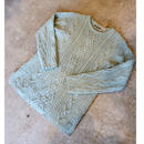 Mint chocolate color Wool Knit
