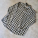 90's J.Crew Ombre Check Shirt