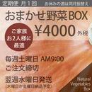 (月1回)おまかせ野菜BOX - Mサイズ