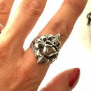 Skull On Cross Ring