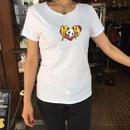 [蛇骨堂-clothes]ハートドクロTシャツ黒/白