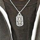[Artemis Classic-pendant]ローズFDLドックタグ