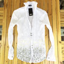 [Artemis Classic-clothes]L/Sしわ加工フローラルグラデホックシャツ