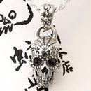 [Atelier Shima-pendant]シュガースカルペンダントトップB(スパイダー)