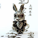 [anima-ring]ウサギのアカメ