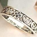 [Artemis Kings-ring]アラベスクダイヤリング シルバー(SV)