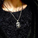 [Artemis Classic-pendant]クロスエンブレムペンダント