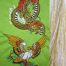 鷹と龍・金×白房・長さ105cm