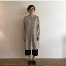 《evam eva》cotton   cashmere shirt robe