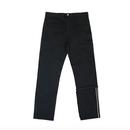 Unbalance Selvage Detail Jeans – Black