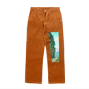 Van Gogh Corduroy Pants – Brown