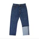 Unbalance Selvage Detail Jeans – Denim
