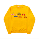 Button Detail Sweatshirts – Yellow