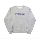 'FEMINIST' Sweatshirts – Grey