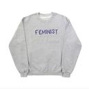 'FEMINIST' Sweatshirts – Grey