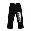Van Gogh Corduroy Pants – Black
