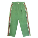 Sidedetail Chino Pants – Green