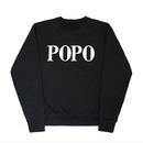 POPO' Sweatshirts – Black