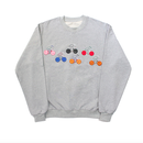 Button Detail Sweatshirts – Grey