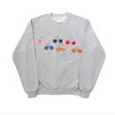 Button Detail Sweatshirts – Grey