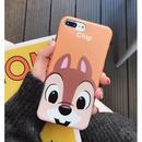 輸入雑貨 チップ&デール ディズニー ケータイカバー  iphone XR XsMAX 最大種類 iphone 8 7 6 6 s-plus FACE チップ