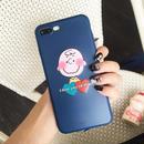 輸入雑貨 スヌーピー ケータイケース snoopy ケータイカバー  iphone XR ケース 最大種類 iphone 8 7 6 6 s-plus チャーリー ネイビー