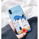 輸入雑貨 ディズニー 仲間たち ケータイカバー  iphone XR XsMAX 最大種類 iphone 8 7 6 6 s-plus Kiss ドナルド