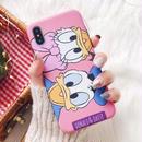 輸入雑貨 ドナルド デイジー ディズニー ケータイカバー  iphone XR XsMAX 最大種類 iphone 8 7 6 6 s-plus ペア D&D