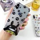 輸入雑貨 トトロ ケータイケース totoro ケータイカバー  iphone XR ケース 最大種類 iphone 8 7 6 6 s-plus トトロ仲間たち 3
