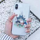 輸入雑貨 トトロ ケータイケース totoro ケータイカバー  iphone XR ケース 最大種類 iphone 8 7 6 6 s-plus トトロアニメキャラ 1