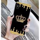 輸入雑貨 Queen ティアラ  iphone XR ケース 最大種類 iphone 8 7 6 6 s-plus スマホケース  ティアラA13